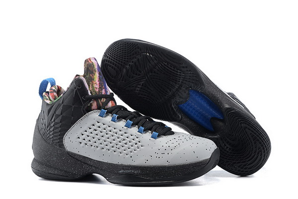 Jordan Melo M11 X Shoes grey/black blue